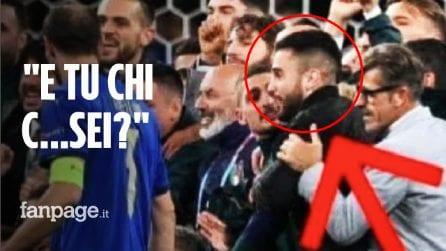 """Chi è il tifoso imbucato alla festa azzurra dopo Italia-Spagna: """"Ero preso dall'euforia"""""""