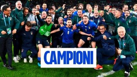 Il cielo è azzurro sopra Londra: l'Italia è campione d'Europa dopo 53 anni