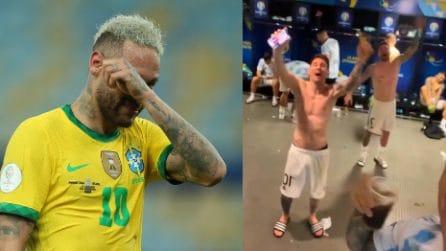 """Il coro di sfottò che i brasiliani si auguravano di non sentire: """"Brasil, decime qué se siente"""""""
