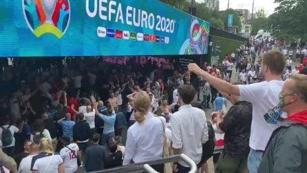 Italia-Inghilterra, fiume di tifosi entra a Wembley per la finale di Euro 2020