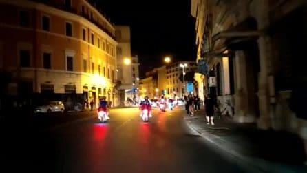 L'Italia vince Euro 2020: i caroselli nel centro di Roma