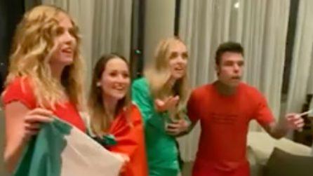 """""""Abbiamo vinto?"""", Fedez e Chiara Ferragni non capiscono subito che l'Italia è Campione d'Europa"""