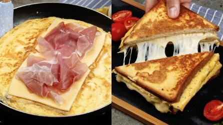 Frittata sandwich: la ricetta sfiziosa per un pranzo veloce e pieno di sapore!