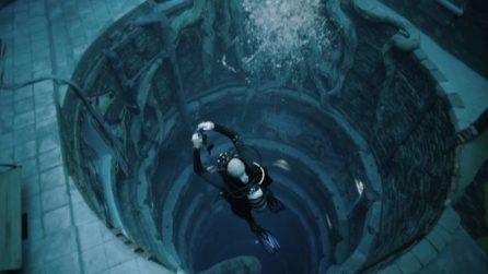 La piscina più profonda al mondo nella Dubai dei record