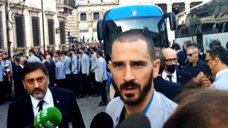 Bonucci: giro di Roma sul pullman scoperto, lo dobbiamo ai tifosi