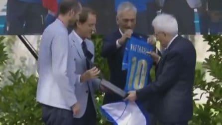 Azzurri e Berrettini da Mattarella: avete reso onore allo sport