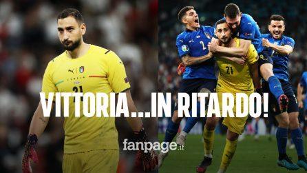 Donnarumma non esulta, mezza Italia non sapeva di aver vinto l'Europeo