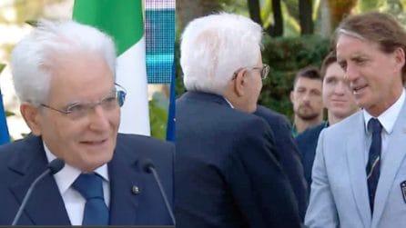 Le bellissime parole di Mattarella alla Nazionale Italiana