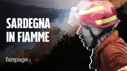 """Inferno di fuoco in Sardegna, in fumo 20 mila ettari: """"Cancellata la nostra storia"""""""
