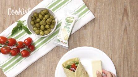 Tortillas integrali con verdure: l'idea per un pranzo veloce e nutriente