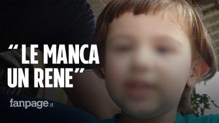 """Gaia nasce senza un rene e le negano l'invalidità. L'appello dei genitori: """"Siamo disperati"""""""