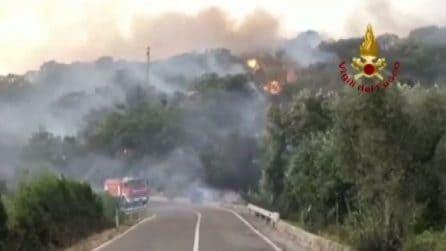 Roghi nell'Oristanese: 1.500 sfollati, è stato di emergenza