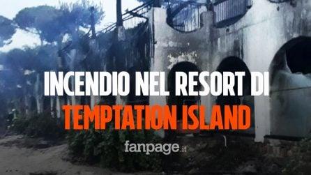 """Incendio nell'hotel del reality """"Temptation Island"""", distrutto il Relais Is Morus"""