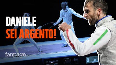 Daniele Garozzo medaglia d'argento nel fioretto alle Olimpiadi di Tokyo: non riesce il bis d'oro