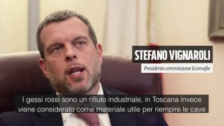 """Gessi rossi, Vignaroli a Fanpage.it: """"Parlamento cerca di autorizzare l'inquinamento per legge"""""""