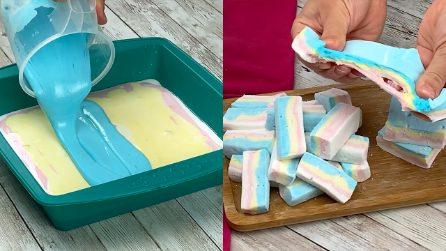 Marshmallow multicolore: ecco come farli a casa tua!