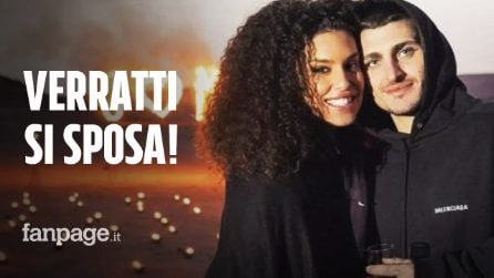 """Marco Verratti sposa Jessica Aidi, il campione e la modella a dire il fatidico """"sì"""""""