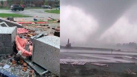 Canada, devastante tornado distrugge le case: diversi feriti