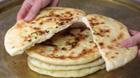 Pane Naan: la ricetta per averlo davvero gustoso