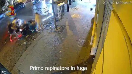 Napoli, il video del poliziotto ferito durante i festeggiamenti per gli Europei