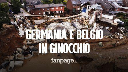 Germania e Belgio devastati dal maltempo: corsa contro il tempo per trovare i dispersi
