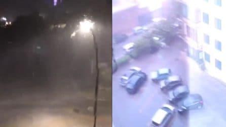 Palermo, sulla città si scatena un violento nubifragio: arrivano sommozzatori per liberare gli automobilisti