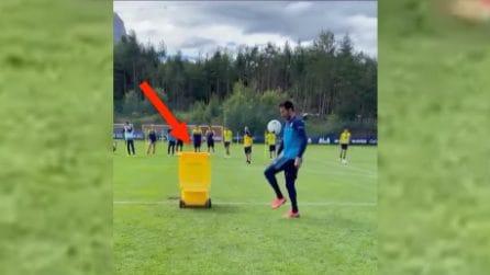 L'epic fail di Gigi Buffon nel ritiro del Parma