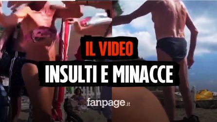 """Capo Miseno, cacciate dalla spiaggia perché lesbiche, il video: """"Vattene sulle montagne, stupida!"""""""