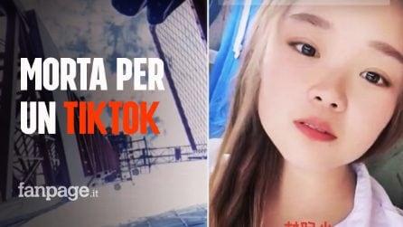 Star di Tik Tok muore in diretta a 23 anni: cade da una gru mentre registra un video