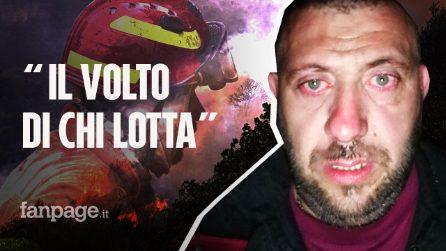 """Incendi Sardegna, la foto-simbolo del pompiere: """"Ecco il volto di chi lotta oltre ogni sforzo"""""""