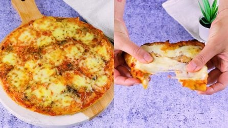 Bread pizza: how to reuse stale bread with a simple but always good recipe!