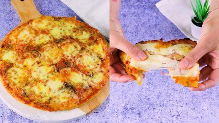 Pizza di pane: come riutilizzare il pane raffermo con una ricetta semplice ma sempre buona!