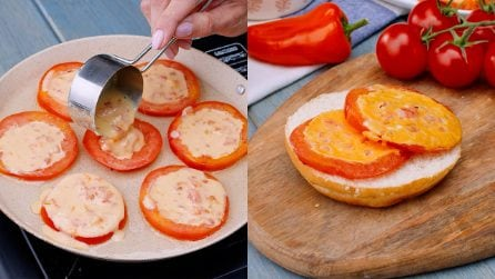 Tomato medallions: for a easy and quick dinner!
