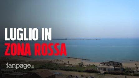 """Sicilia, zona rossa in pieno luglio, a Gela mare e lidi deserti. Il sindaco: """"Siamo preoccupati"""""""