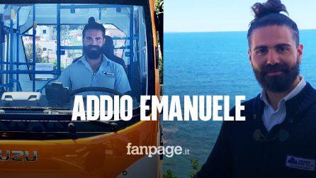 Autobus precipita a Capri, morto l'autista Emanuele Melillo:la moglie era incinta