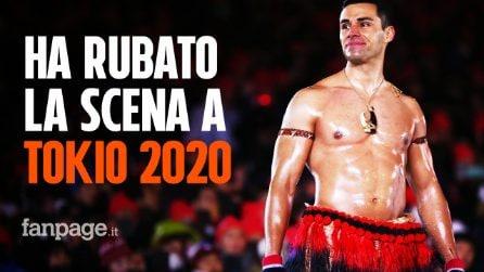Tokio 2020, chi è Pita Taufatofua: l'atleta di Tonga che sfila a petto nudo alle Olimpiadi