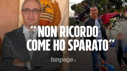 """Voghera, i legali di Adriatici: """"Ha estratto la pistola prima del pugno e ha tolto la sicura"""""""