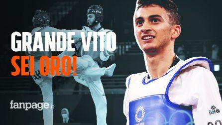 Vito Dell'Aquila, prima medaglia d'oro per l'Italia alle Olimpiadi: a 20 anni stella del taekwondo