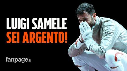 Luigi Samele argento alle Olimpiadi! Prima medaglia italiana, è secondo nella sciabola