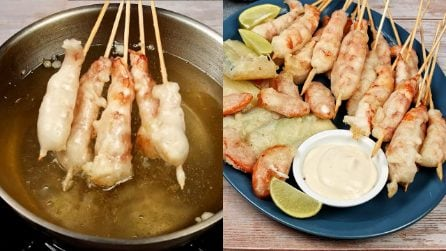 Shrimps and veggies tempura: how to make Japanese frying perfect in just a few steps!