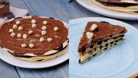 Pancakes al cioccolato golosi: le frittelle proteiche facilissime da preparare!