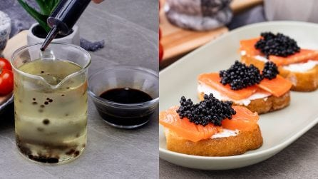 How to make balsamic pearls (caviar) at home