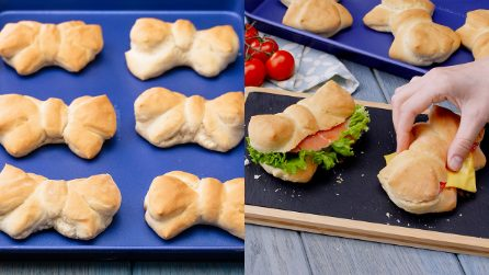 Savory brioche ribbons: to fill as you prefer!