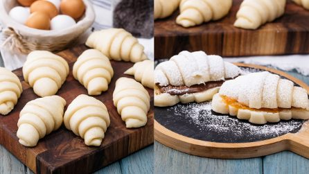 Steamed brioche croissants: the recipe to try right now!