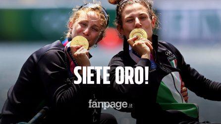 Oro nel canottaggio, Rodini e Cesarini spezzano l'incantesimo alle Olimpiadi di Tokyo 2020