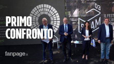 Comunali Roma, primo confronto tra i candidati sindaco: scintille sui trasporti e Michetti se ne va