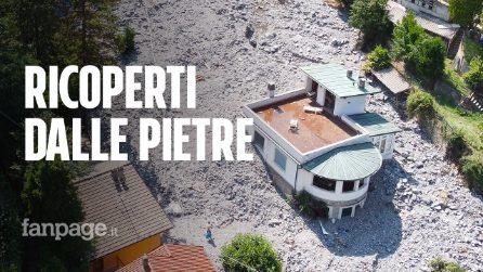 """Maltempo a Como, i residenti delle case travolte da pietre: """"Siamo scappati in tempo"""""""
