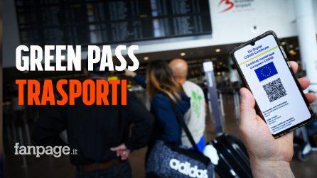 Green Pass obbligatorio sui mezzi di trasporto: ecco come funzionerà