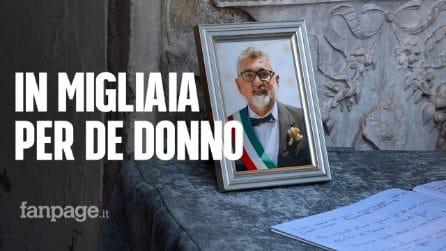 """Funerali del dottor De Donno, il sindaco di Mantova: """"Credeva nel vaccino e voleva dare l'esempio"""""""