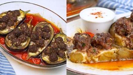 Eggplant and meatballs: the delicious single dish to bring to the table!